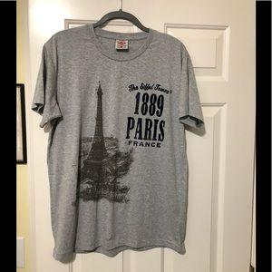 Paris 🇫🇷 France Authentic Eiffel Tower shirt L